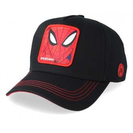 Gorra visera curva trucker Marvel SpiderMan negra